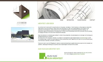 website webdesign architect jessi decsi hechtel eksel startpagina