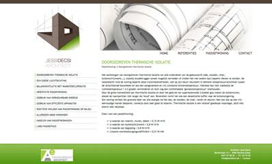 website webdesign architect jessi decsi hechtel eksel detailpagina