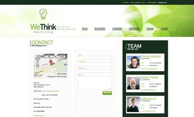 website webdesign wethink meeuwen contactpagina